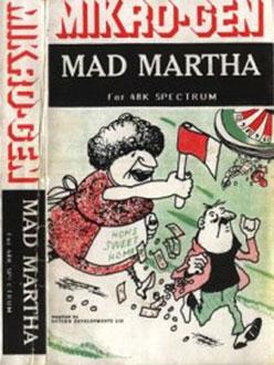 Juego online Mad Martha (Spectrum)