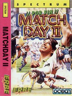 Carátula del juego Match Day II (Spectrum)