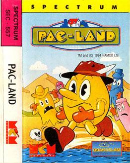 Portada de la descarga de Pac-Land