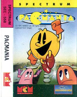 Juego online Pac-Mania (Spectrum)