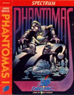 Carátula del juego Phantomas (Spectrum)
