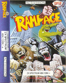 Juego online Rampage (Spectrum)