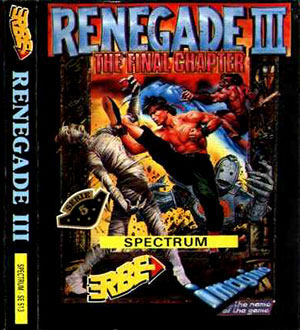Carátula del juego Renegade 3 The Final Chapter (Spectrum)