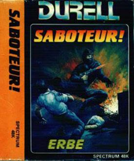 Carátula del juego Saboteur (Spectrum)