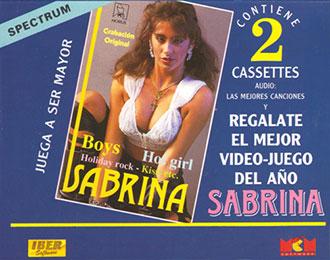 Carátula del juego Sabrina (Spectrum)