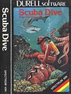 Juego online Scuba Dive (Spectrum)