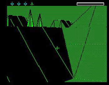 Pantallazo del juego online The Sentinel (Spectrum)
