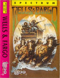 Carátula del juego Wells & Fargo (Spectrum)
