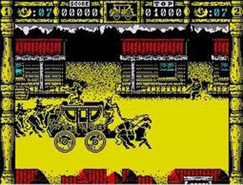 Pantallazo del juego online Wells & Fargo (Spectrum)