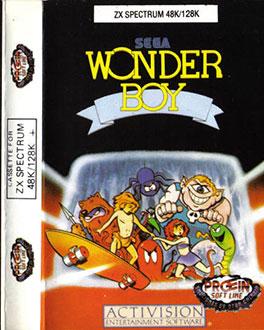 Juego online Wonder Boy (Spectrum)