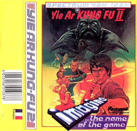 Juego online Yie Ar Kung Fu 2 (Spectrum)