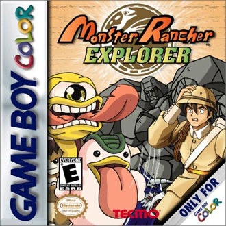 Portada de la descarga de Monster Rancher Explorer