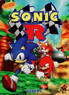 Portada de la descarga de Sonic R