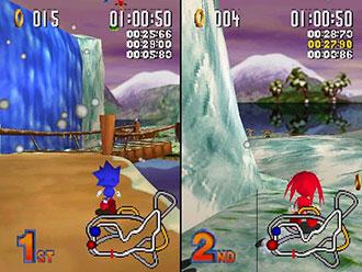 Imagen de la descarga de Sonic R