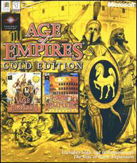 Portada de la descarga de Age of Empires: Gold Edition