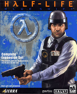 Portada de la descarga de Half-Life: Blue Shift