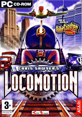 Portada de la descarga de Chris Sawyer's Locomotion