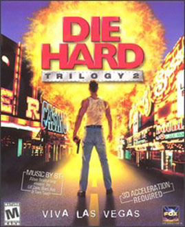 Portada de la descarga de Die Hard Trilogy 2: Viva Las Vegas