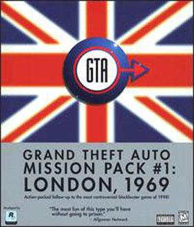 Portada de la descarga de Grand Theft Auto: Mission Pack 1: London 1969