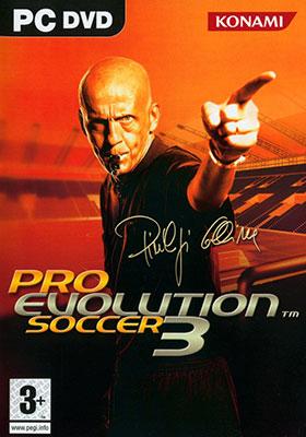 Portada de la descarga de Pro Evolution Soccer 3