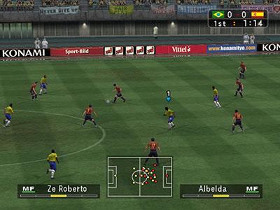 Imagen de la descarga de Pro Evolution Soccer 3